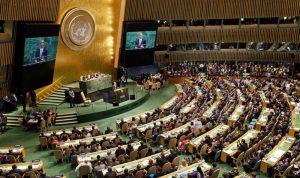 انتخاب لبنان نائبًا لرئيس الجمعية العامة للأمم المتحدة للدورة الـ75