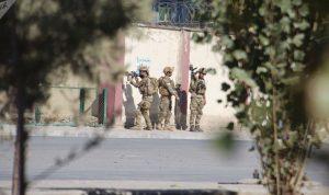 انتهاء هجوم كابول ومقتل المهاجمَين