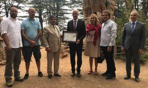 الرئيس السويسري زار متحف جبران وغابة أرز الرب