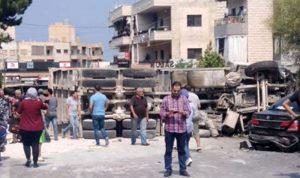 8 جرحى بحادث سير مروع في بشامون