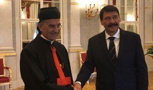 الراعي والرئيس المجري: لضرورة عودة النازحين إلى بلادهم