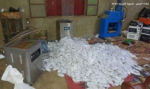بالصور: حصيلة مداهمة الجيش لمزارع ومنازل تجار مخدرات في بوداي