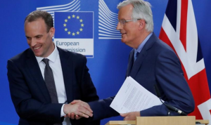 """بريطانيا تأمل بالإسراع بوتيرة محادثات الـ""""بريكست"""""""