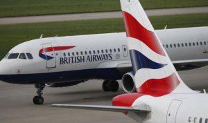 الخطوط البريطانية توقف رحلاتها بين لندن وطهران