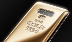 هاتف يحمل كيلوغراماً من الذهب!