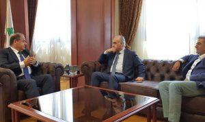 عربيد بحث مع أبو الحسن سبل التعاون