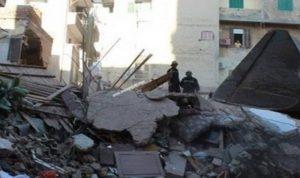 مقتل 5 أشخاص من عائلة واحدة بانهيار منزل في مصر