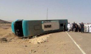 8 قتلى بحادث سير في محافظة البحر الأحمر في مصر