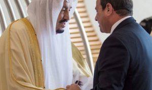 السيسي التقى العاهل السعودي