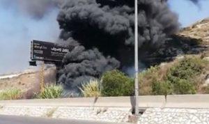 حريق في الهري والأهالي يناشدون