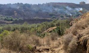 حريق كبير في خريبة الجندي