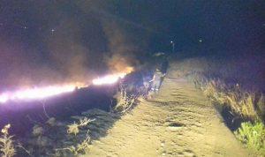 إخماد حريق في بلدة السويسة العكارية