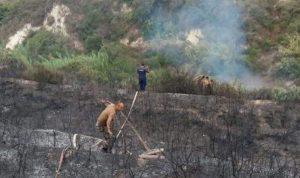 إخماد حريق في كفرحزير – الكورة