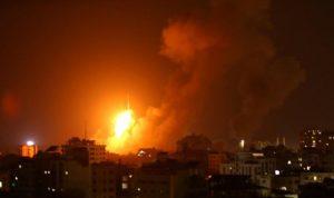 غارات اسرائيلية على غزة والفصائل ترد بعشرات الصواريخ