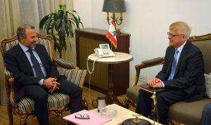 اللجنة الروسية – اللبنانية محور لقاءات باسيل: لا تدخل سوريًا مباشرًا