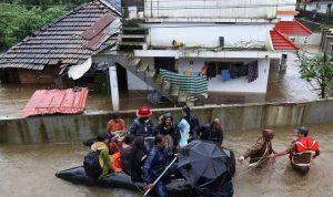فيضانات الهند تقتل أكثر من 40 شخصا