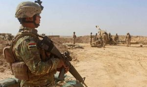 """القوات العراقية تدمّر معاقل """"داعش"""" في جزيرة تكريت"""