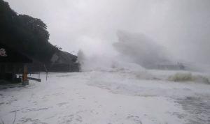 اضطراب في النقل إثر إعصار اليابان