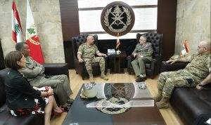 قائد الجيش بحث مع رئيس أركان الدفاع الإيطالي الأوضاع العامة