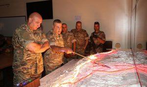 قائد الجيش تفقد مراكز فوج الحدود البرية الرابع في بعلبك