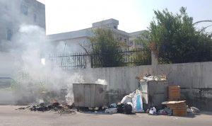 بلدية المنية توضح سبب تراكم النفايات
