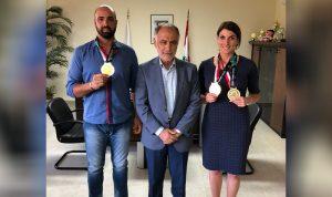 فنيش لوفد الاتحاد اللبناني للرماية والصيد: إنجاز مشرف للرياضة