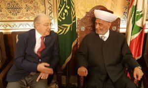 الشؤون الوطنية بين المفتي دريان وشهاب