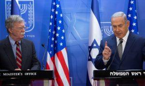 نتانياهو وبولتون يطالبان أوروبا بتكثيف الضغوط على إيران