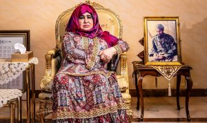 بالصور: والدة أسامة بن لادن تتحدث للمرة الأولى!