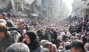 هل يضم قطار عودة النازحين اللاجئين الفلسطينيين من اليرموك؟