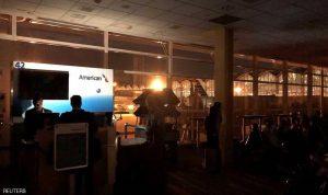 بالصور: مطار رونالد ريغان غارق في الظلام!