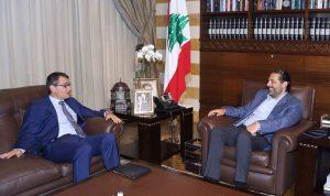 آخر المستجدات في لبنان بين الحريري والسفير الألماني