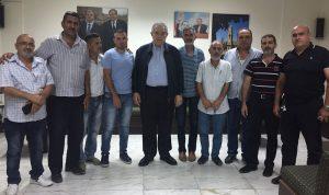 الجسر بحث مع وفد من نقابة عمال بلدية طرابلس هموم العمال