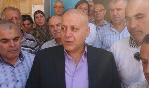 إعتصام في بعلبك للمطالبة بعودة المحافظ خضر