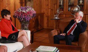 الاوضاع الراهنة بين فرنجية وسفيرة كندا