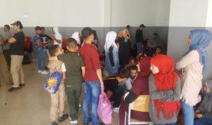 مئات النازحين يعودون الى سوريا الثلثاء!