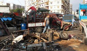 بلدية طرابلس أزالت المخالفات والتعديات في التبانة