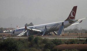 بالفيديو: اصطدام طائرة مغربية بأخرى تركية