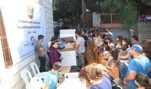 سفارة الامارات في لبنان توزع الملابس على 900 طفل في عيد انتقال العذراء