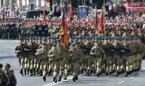عرض عسكري غير مسبوق في ذكرى استقلال أوكرانيا