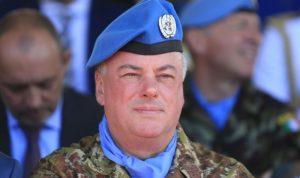"""قائد """"اليونيفيل"""": جنوب لبنان هو الأكثر أماناً"""