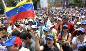 قمع تظاهرة احتجاج على انقطاع الكهرباء في فنزويلا