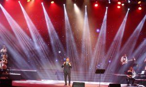 بالصور: للمرّة الرّابعة… وائل كفوري يتألق في مهرجان القبيّات
