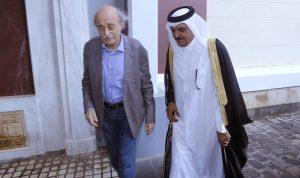 جنبلاط بحث التطورات السياسية مع سفير قطر