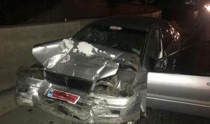 بالصور: 8 جرحى بحادث سير في زوق مصبح