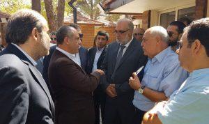 بو عاصي في عنجر وبر الياس لتفقد مشاريع الوزارة في قضاء زحلة