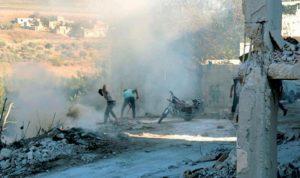 الغارات تمطر إدلب.. واشتبكات بين النظام والاكراد في القامشلي