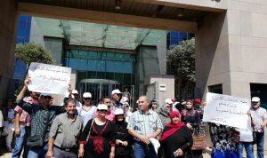 إعتصام لحراك المتعاقدين الجمعة