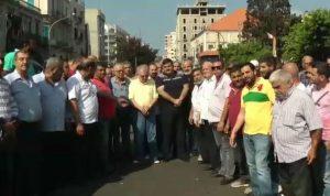اعتصام للسائقين العموميين في طرابلس