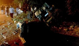 5 جريحات بحادث سير على طريق الضنية – طرابلس